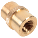 Adapter DIN G5/8 - W30x2 Brass G5/8 to W30x2