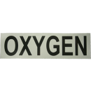 Sticker OXYGEN white/black 16,5cm x 4,5cm